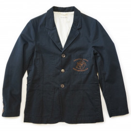 Пиджак Universal Works Suit Jacket Twill Social Club navy
