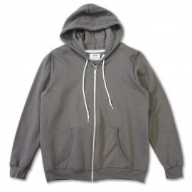 Женская толстовка Anvil Zip Hoody grey