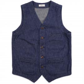 Жилет Japan Blue Jeans Urban Vest 10.5oz PW Zimbabwe Cotton Denim