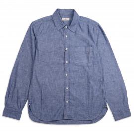 Рубашка Japan Blue Jeans JBSA06 5oz Côte d'lvoire Cotton Selvage Chambray