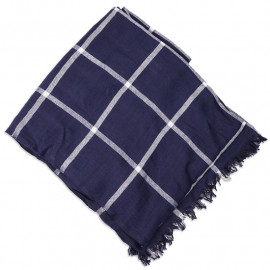 Шарф Armour Lux Etole Iroise Check Navy/White