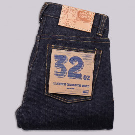 Джинсы Naked and Famous Weird Guy - Super Heavyweight 32oz Selvedge - Indigo