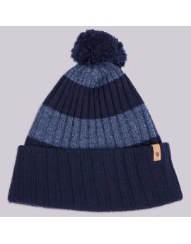 Шапка Fjallraven Byron Pom Hat 555 Dark Navy