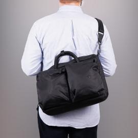 Сумка-рюкзак Stighlorgan Solomon hybrid backpack x messenger bag - Black
