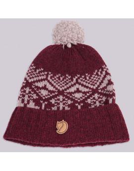 Шапка Fjallraven Snow Ball Hat 356 Dark Garnet