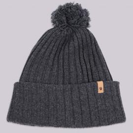 Шапка Fjallraven Byron Pom Hat 030 Dark Grey