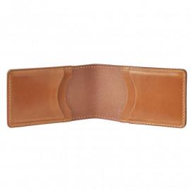 Кардхолдер Fjallraven Ovik Card holder Large  249 - Leather Cognac