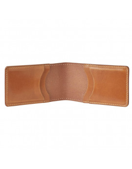 Кардхолдер Fjallraven Ovik Card holder Large  249 - Leather Cognac
