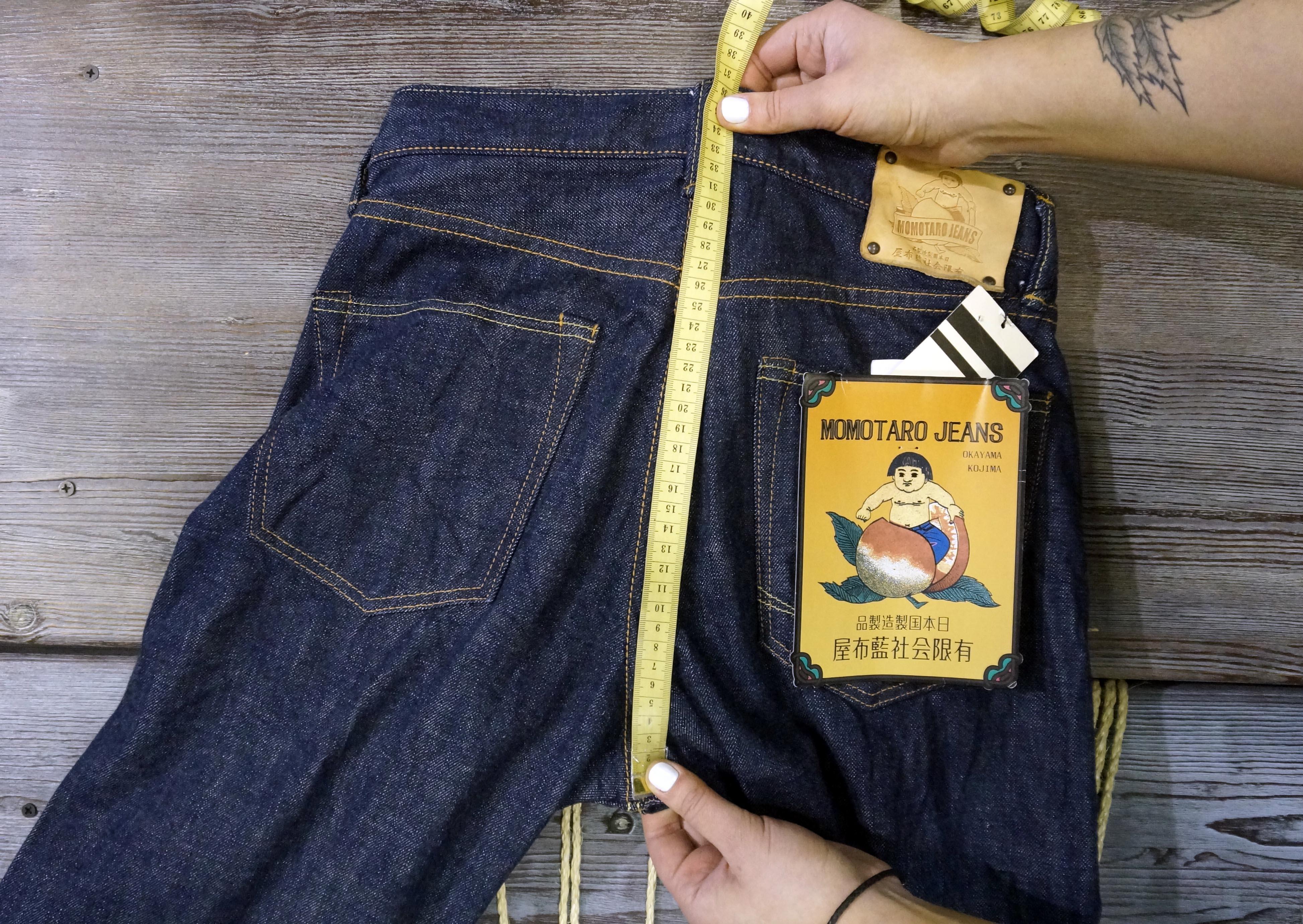 Замеры джинс