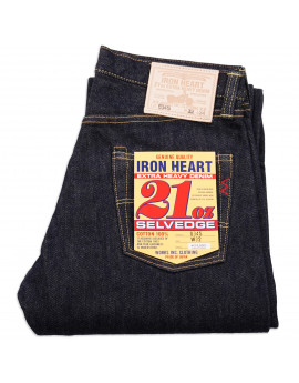 Джинсы Iron Heart IH-634S Straight Cut Indigo 21oz Selvedge