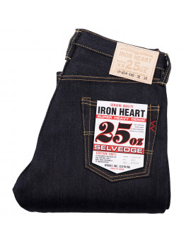 Джинсы Iron Heart IH-634-XHS Straight Cut Indigo 25oz Selvedge