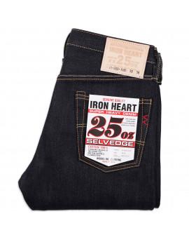 Джинсы Iron Heart IH-666-XHS Slim Straight Cut Indigo 25oz Selvedge