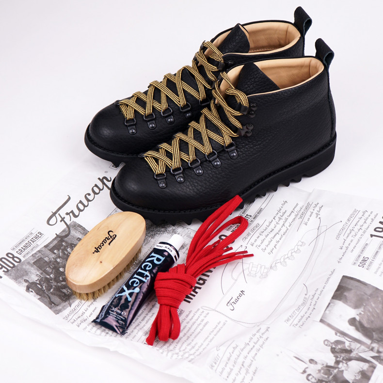 Ботинки Fracap M120 Scarponcino Black / Ripple Black
