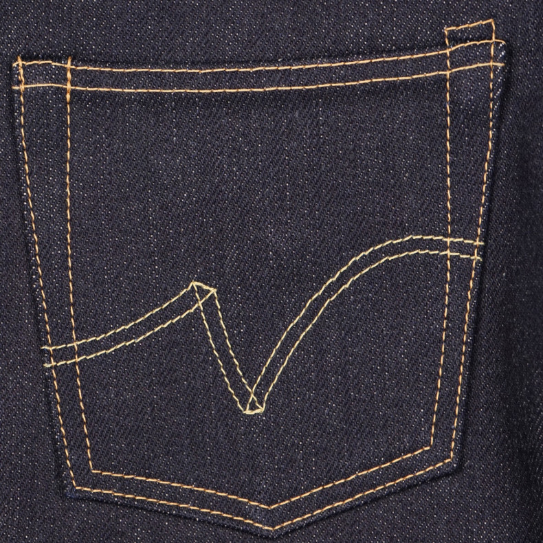 Джинсы Iron Heart IH-634-XHS Straight Cut Indigo 25oz Selvedge