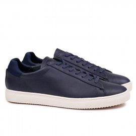 Кеды CLAE Bradley Navy Full Grain Leather