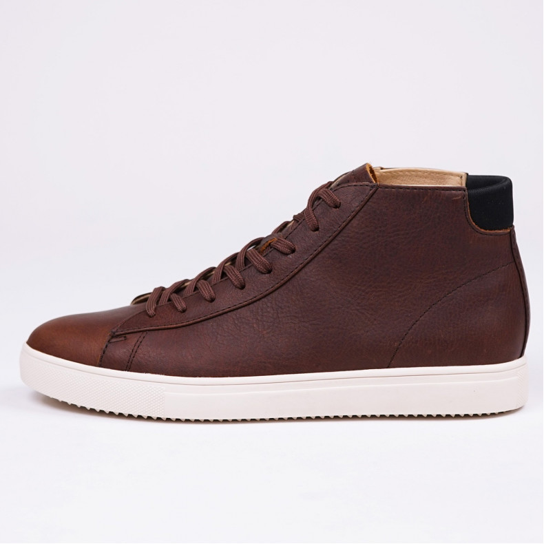 Кеды CLAE Bradley Mid Cocoa Leather