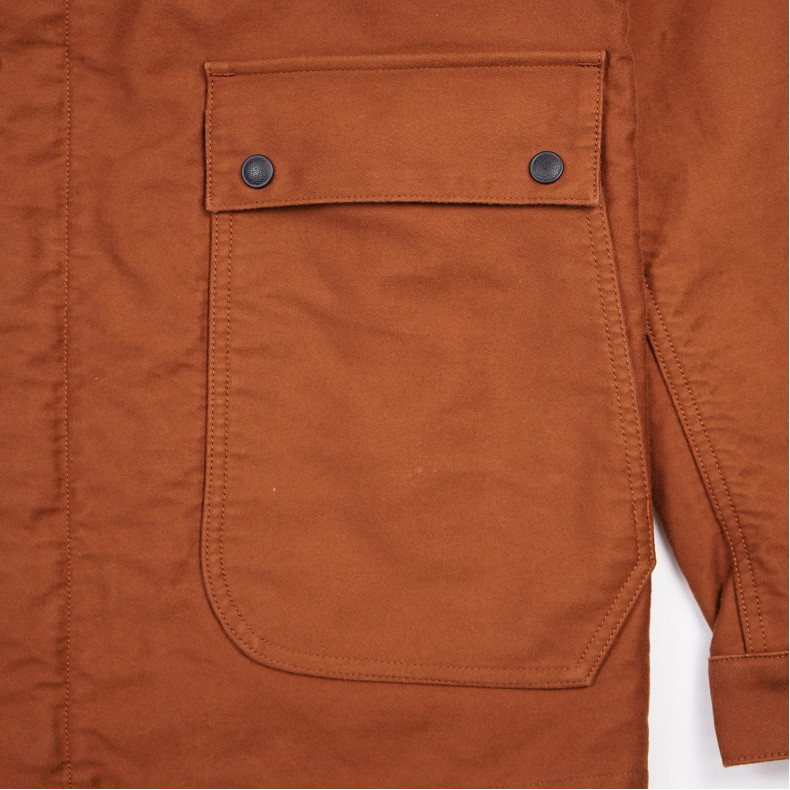 Куртка Momotaro Jeans 03-091 Heavy Moleskin Jacket Brown