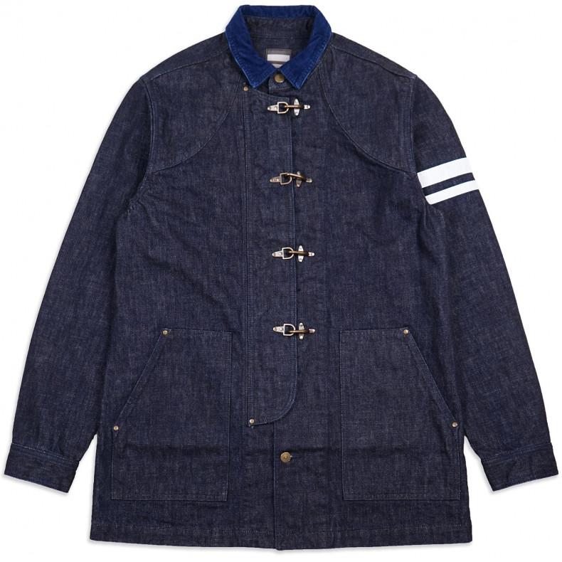 Куртка Momotaro Jeans 03-088 Fireman Jacket 13,5 Denim
