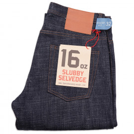 Джинсы The Unbranded Brand UB365 Straight Fit Slubby 16 oz Selvedge
