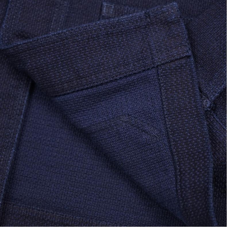 Пиджак Momotaro Jeans 03-042 Indigo Dyed Dobby Sashiko USN Coverall