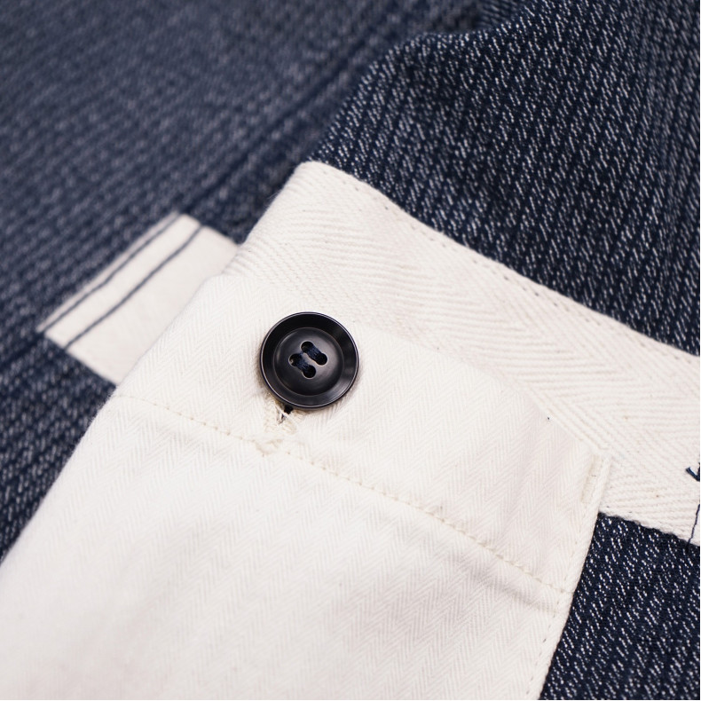 Пиджак Momotaro Jeans 03-086 Covert Twill Jacket Navy