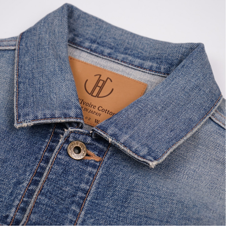 Куртка Japan Blue Jeans JBJK1163 FID Denim Jacket 13.5oz Côte d'lvoire Cotton Vintage Selvage