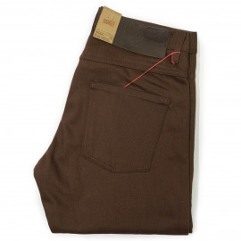Джинсы Naked and Famous Slim Guy Chocolate Selvedge Chino
