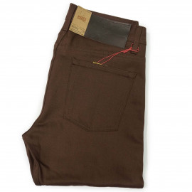 Джинсы Naked and Famous Weird Guy Chocolate Selvedge Chino