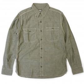 Рубашка Momotaro MS033 OD - green