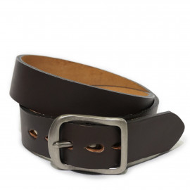 Ремень Naked and Famous Thickbelt brown