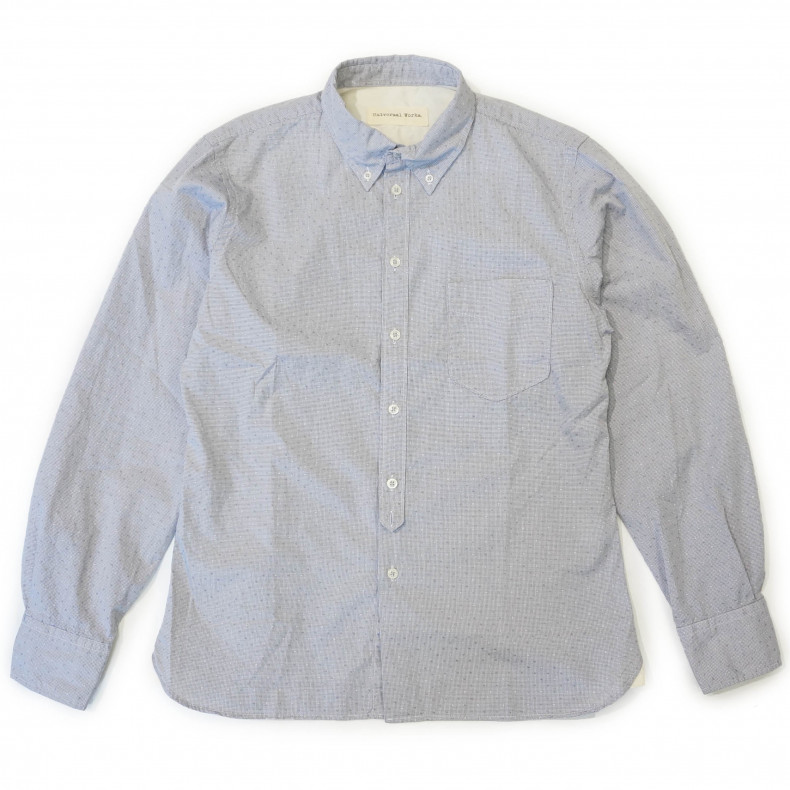 Рубашка Universal Works Everyday Shirt Lisbon grey