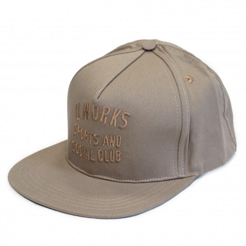 Кепка Universal Works Baseball hat Marl Twill khaki