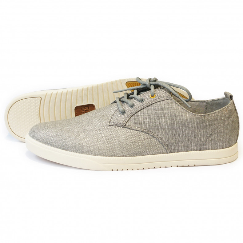 Ботинки Clae Ellington Concrete Canvas grey