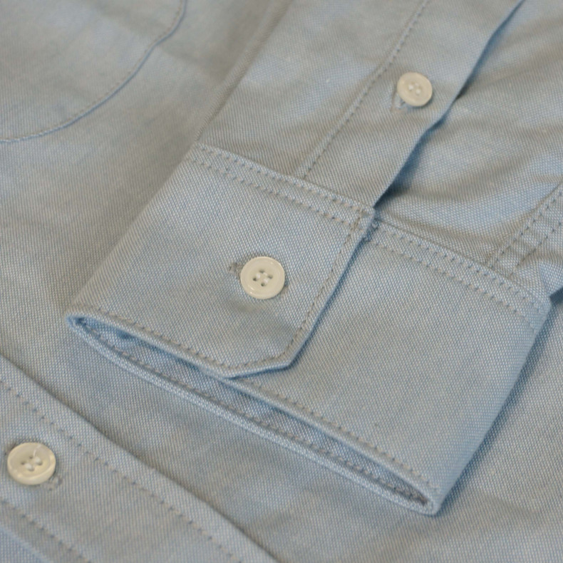 Рубашка Big John MS008F Chambray blue