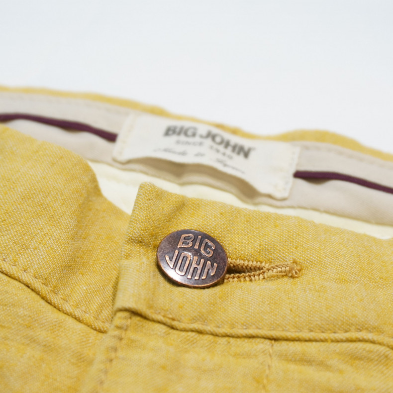 Шорты Big John M704E Chambray Shorts yellow