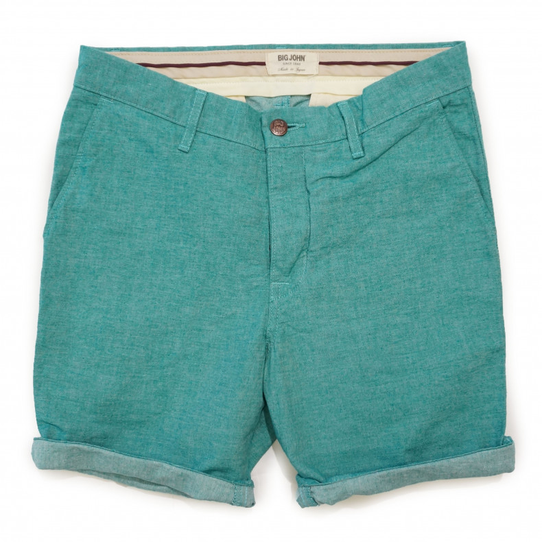 Шорты Big John M704E Chambray Shorts green
