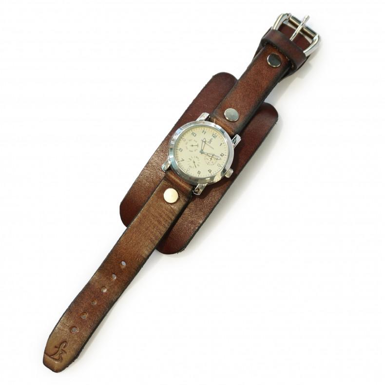 Часы Flying Zacchinis Hi Wire brown / white