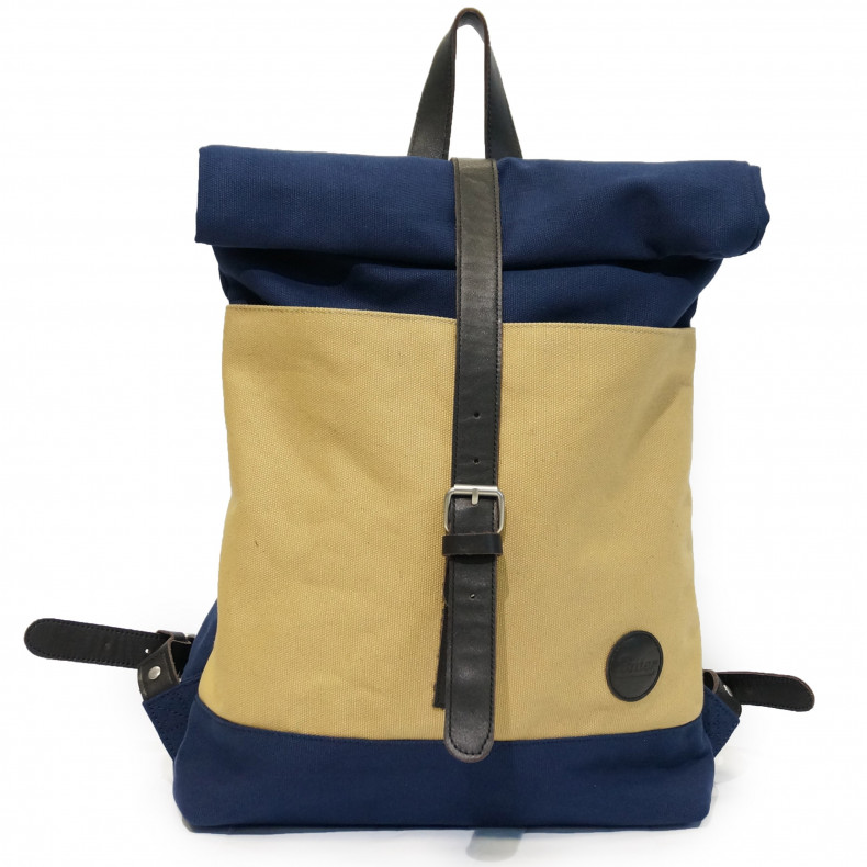 Рюкзак Enter Roll Top Backpack navy / khaki