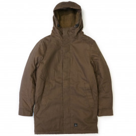 Куртка Dunderdon J25 Canvas Parka dark brown
