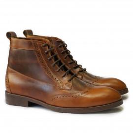Ботинки Afour Hi Brogue 1 mocco