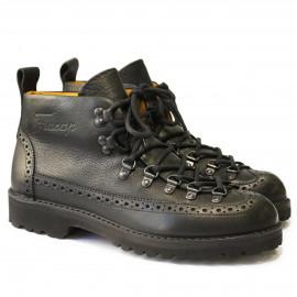 Ботинки Fracap M130 Scarponcino Brogue Black / Vibram Roccia Black