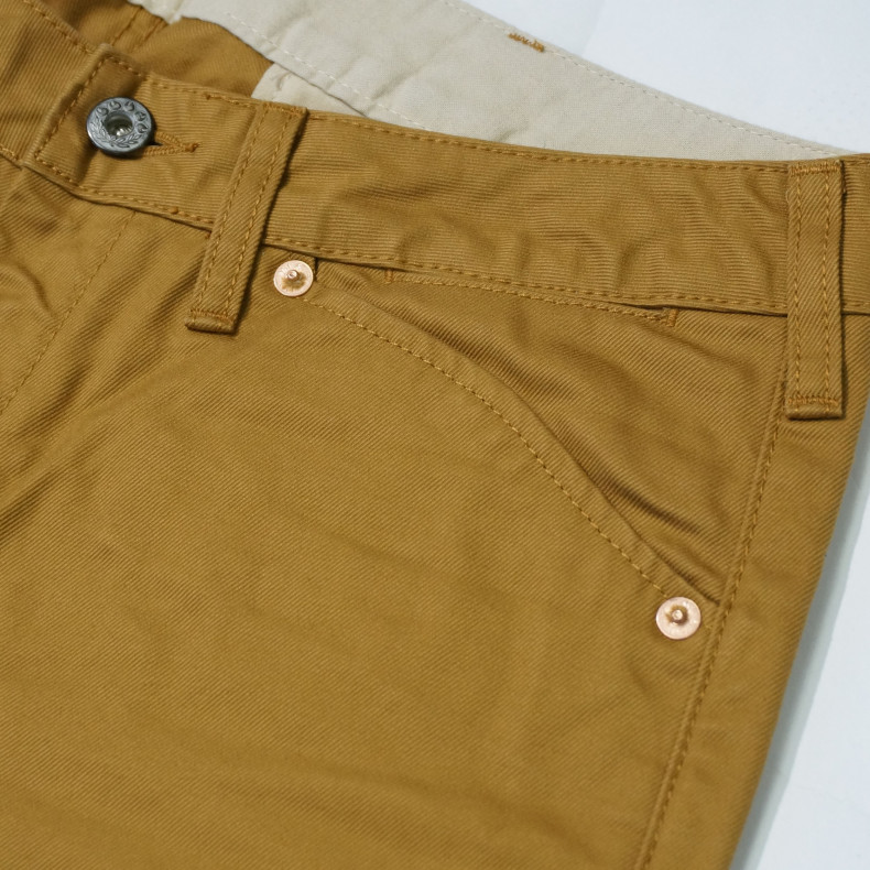 Брюки Momotaro 01-020 Drill Trousers Tapered brown