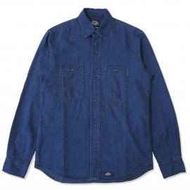 Рубашка Bleu de Paname Chemise 2 Pocket Indigo