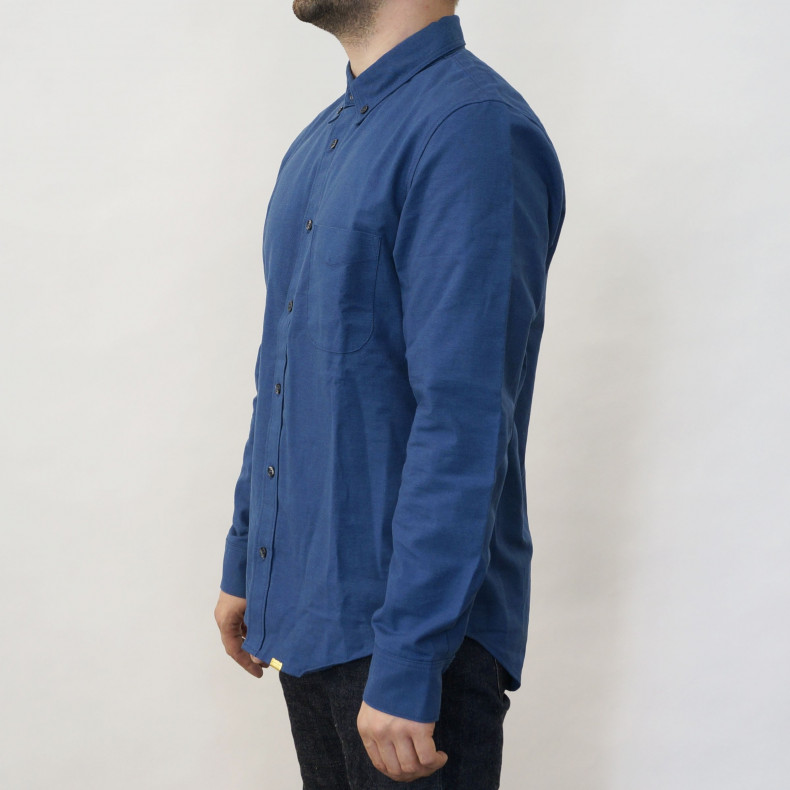 Рубашка Big John MS008F Chambray navy