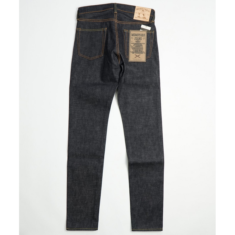 Джинсы Momotaro Jeans 0405-V Hi-Tapered Raw 15.7 Oz Selvedge