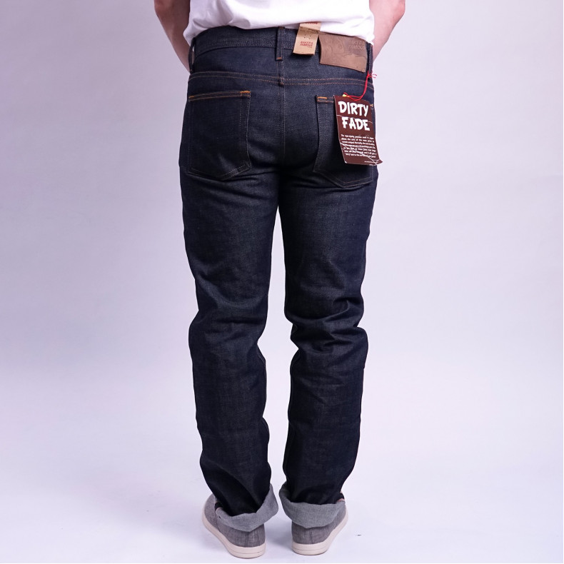 Джинсы Naked and Famous Weird Guy Dirty Fade Selvedge 14.5 Oz