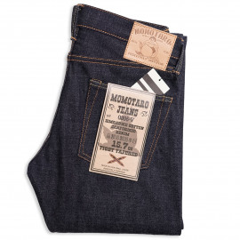 Джинсы Momotaro Jeans 0305-V Tight-Tapered Raw 15.7 Oz Selvedge