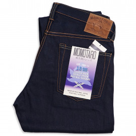 Джинсы Momotaro Jeans 0605-14 Natural Tapered Double Face Indigo 13 Oz
