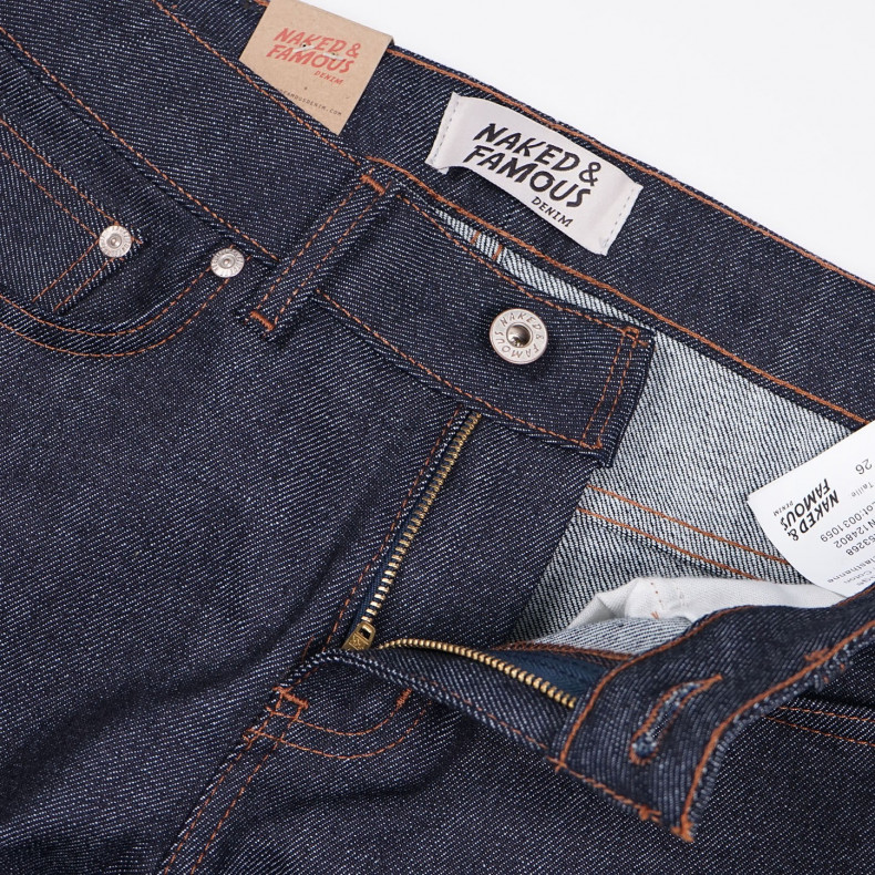 Женские джинсы Naked and Famous The Boyfriend Raw Stretch Selvedge