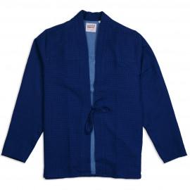 Рубашка Naked and Famous Kimono Shirt Doubleweave Dobby Dots